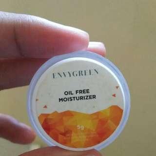Envygreen oil free moisturizer