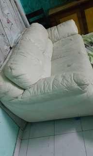 Sofa Leather (white)