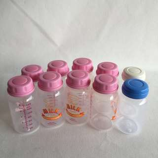 Preloved 10 pcs Storage Bottles