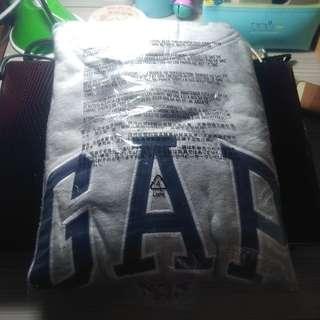 GAP灰色帽T