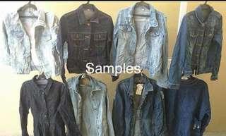 *BUNDLE* 200pcs Denim jacket
