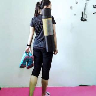 Yoga Mat Baru dapat giveaway