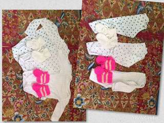 Bundle of 3 w/ knitted shoes