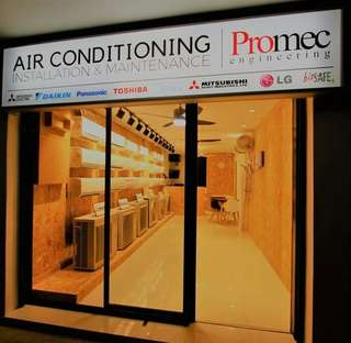 Aircon servicing, chemical cleaning, installation