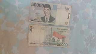 Uang jadul 50000