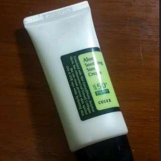 Corsx aloe soothing sun cream