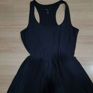 MANGO dress (dark grey)