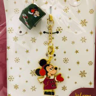 Tokyo Disneyland disney resort DisneySea Christmas Mickey winter wonderland keychain