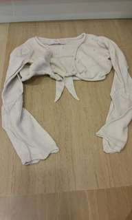 Pre-loved authentic Gap bolero for age 5 and above.