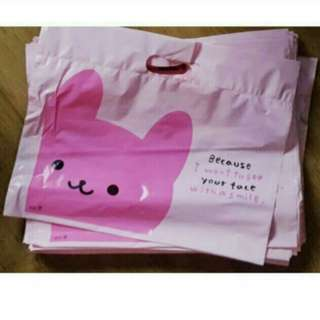 Rabbit Design Plastic/ Party Gift Bag