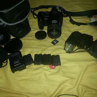 Lumix dmc fz50 ( price is still negotiable )