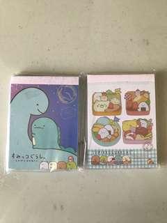 (INSTOCK) Sumikko Gurashi Notepad