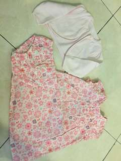 MOTHERCARE DRESS SET 3-6mth