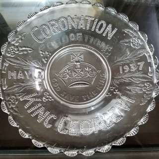 King George VI Coronation Plate
