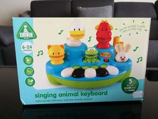 ELC Animal Singing Keyboard