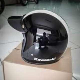 Helm Original Retro Classic Kawasaki W175