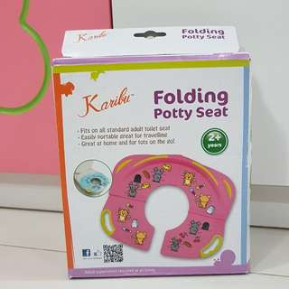 Potty seat for travelling