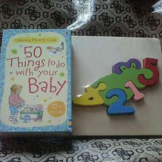 50 Things To Do With Your Baby & Number Puzzle