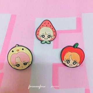 LF BTS fanart Pins/ Keyring