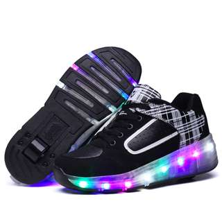 [NEW ] [ PO] !!! PROMOTION MONTH OF APRIL 2018 !! FOR THIS AWESOME PRETTY COOL LED ROLLER SHOES ONE WHEELS !!  COME WITH KIDS AND ADULT SIZE TOO !!! CAN BRING IT EVERYWHERE  !! BE THE FIRST TO GET NOW !!!!!