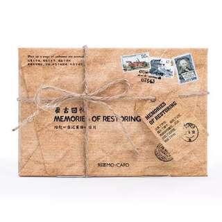 Vintage postcards (memories of restoring)