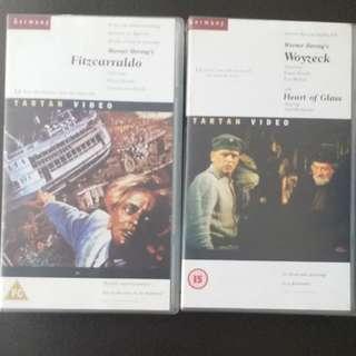 Werner Herzog -VHS