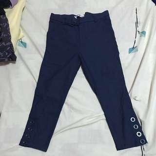 Blue Pedal Shorts