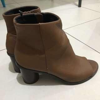 H&M Peeptoe Booties