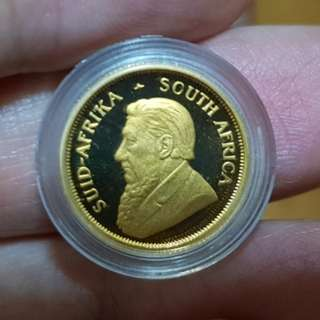 South Africa 1/10 Oz Gold Proof Coin (Sharing Only)