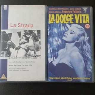 Federico Fellini - VHS