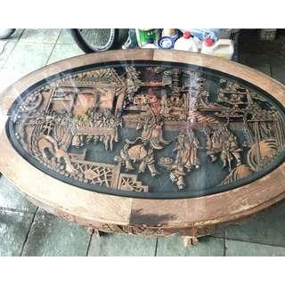 Antique Ba Xian Coffee Table