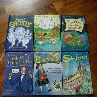 Preloved Usborne First Young reading