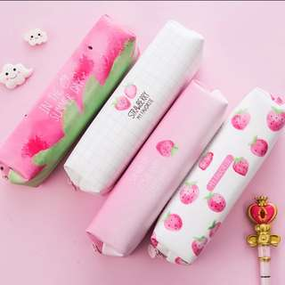 Strawberry pink Pencil Case
