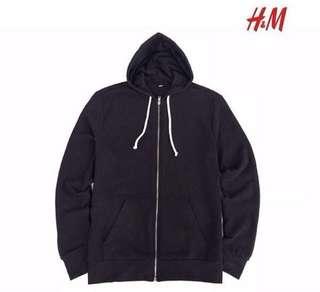 Jacket H&M Full Zipper Black