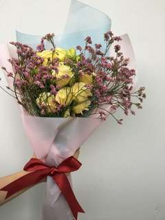 Lisanthum bouquet