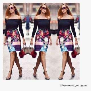 🍃Woman Skirt and Long Sleeved top Terno