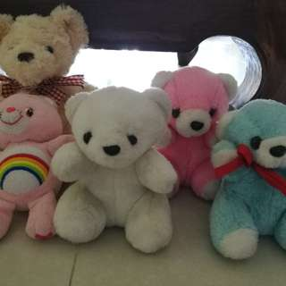 Cute bear toys , all for rm20