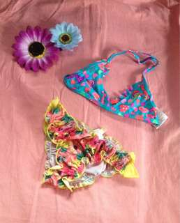 Infant swimsuit 2pc