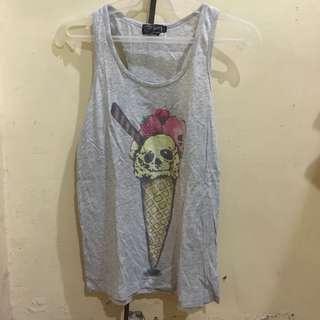 Just g ice cream sleeveless top