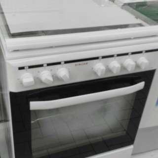 Dapur Gas + Oven Elektrik (baru)