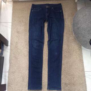 UNIQLO Skinny Jeans (Dark Blue)