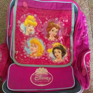 Authentic Disney school bag