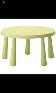 Ikea Mammut Table - BLUE