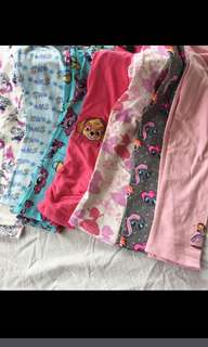 PO kids legging while stock last as stock is running fast !! Size 2-7yrs old