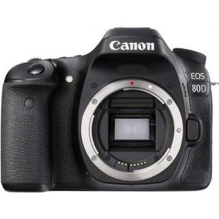 Camera Canon EOS 80D Body Only Wifi DSLR