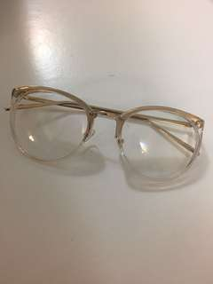 透明框眼鏡