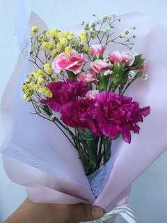 Fresh Carnation Bouquet