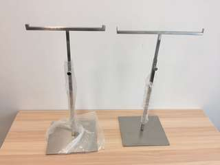 Stainless Steel Hangers - 2 items 不銹鋼拉絲掛架 兩個