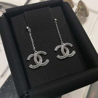 Latest Chanel Dazzling Earrings
