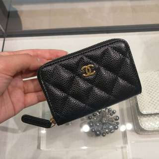 Authentic Chanel Zippy Wallet